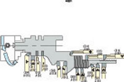 三和製作所 旋盤用ハイス付刃バイト 504-11 [A071727]