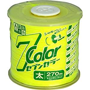 日本未発売 画像は代表画像です ご購入時は商品説明等ご確認ください たくみ 建築水糸7カラー A031113 イエロー 太 4801 開店記念セール