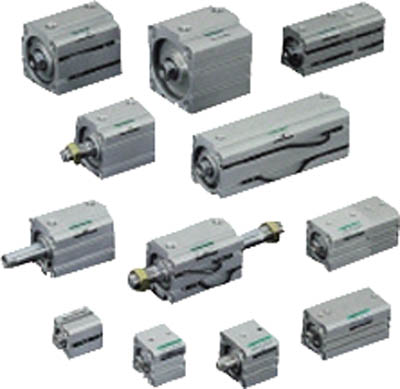 CKD コンパクトシリンダ高荷重形スイッチ付 SSD-KL-40-10 [A092321]