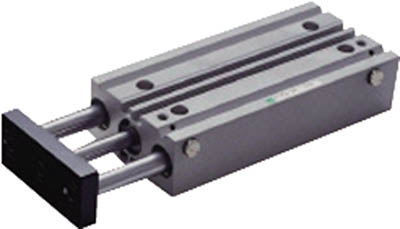 CKD ガイド付シリンダころがり軸受 STL-B-40-200 [A092321]
