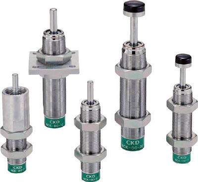 CKD ショックキラー フランジ形 ストップナット・先端キャップ付 NCK-FA-2.6-N1C [A150504]