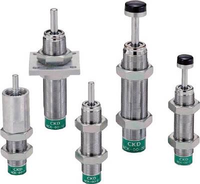 CKD ショックキラー フランジ形 ストップナット・先端キャップ付 NCK-FA-7-N1C [A150504]