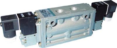 CKD パイロット式5ポート弁セレックスバルブ 4F120-06-E-DC24V [A092321]