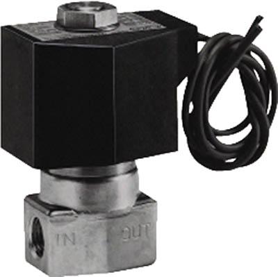 CKD 直動式2ポート電磁弁(マルチレックスバルブ) AB41-04-8-03A-DC24V [A092321]