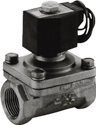 CKD パイロットキック式2ポート電磁弁(マルチレックスバルブ) ADK11-10A-02G-AC100V [A092321]