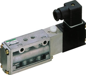 CKD パイロット式5ポート弁セレックスバルブ 4F310-08-B-AC100V [A092321]