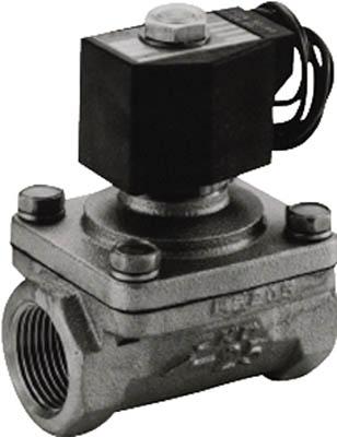 CKD パイロットキック式2ポート電磁弁(マルチレックスバルブ) ADK11-20A-03A-AC200V [A092321]