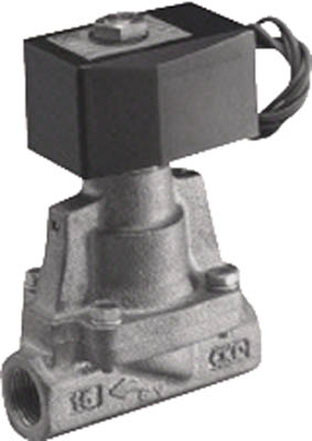 CKD パイロット式2ポート電磁弁(マルチレックスバルブ) AP11-25A-02G-AC100V [A092321]