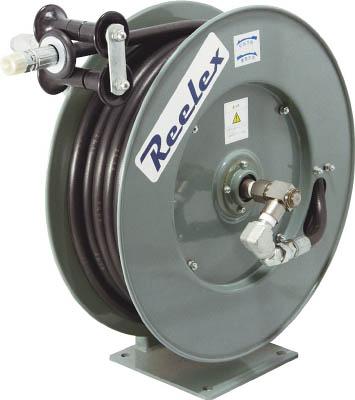 中発販売 【代引不可】【直送】 Reelex 高圧グリス用ホースリール 21MPa 内径6.3mm×10m ORP-610F210 [A011718]