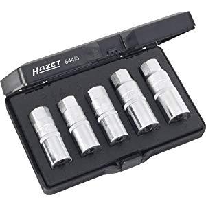 HAZET ハゼット スタッドボルトエクストラクターセット 844/5 [A020415]
