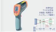 イチネンTASCO タスコ デュアルレーザー放射温度計(高温型) TA410EZ [A020711]