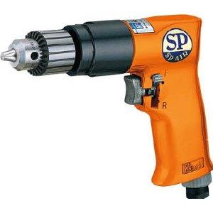 【◆◇スーパーセール!エントリーでP10倍!期間限定!◇◆】エスピーエアー SP エアードリル10mm(正逆回転機構付) SPD-52 [A230101]