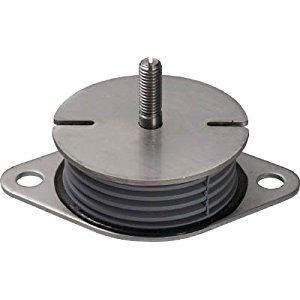 タイカ Taica 防振材 インシュレーター プレート(ゴム被覆) SF-50-STEEL [A230101]