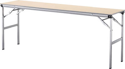 【◆◇エントリーで最大ポイント5倍!◇◆】アイリスチトセ 折畳みテーブルLOT 棚無し1545サイズ ナチュラル LOT-1545-NA [F010401]
