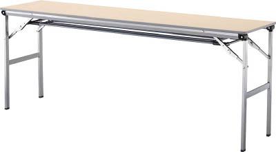 【◆◇スーパーセール!エントリーでP10倍!期間限定!◇◆】アイリスチトセ 折畳みテーブルLOT 棚付き1560Tサイズ ナチュラル LOT-1560T-NA [F010401]