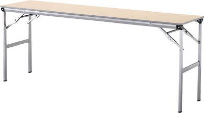 【◆◇エントリーで最大ポイント5倍!◇◆】アイリスチトセ 折畳みテーブルLOT 棚無し1860サイズ ナチュラル LOT-1860-NA [F010401]