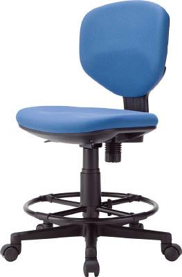 【◆◇エントリーで最大ポイント5倍!◇◆】アイリスチトセ 回転椅子BIT-EX43ハイタイプ ブルー BIT-EX43LH-F-BL [F010806]