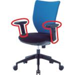 アイリスチトセ 回転椅子3DA 可動肘 3DA-M2 [A230101]
