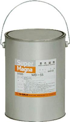 マークテック 【代引不可】【直送】 MARKTEC 磁粉探傷剤 スーパーマグナ WD-55 5kg(白) C004-0051005 [A012500]