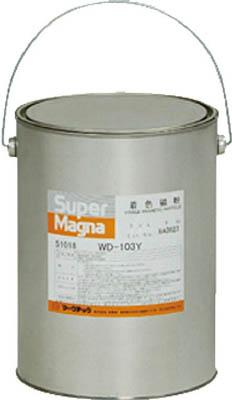 マークテック 【代引不可】【直送】 MARKTEC 磁粉探傷剤 スーパーマグナ WD-103Y 5kg(白) C004-0051018 [A012500]