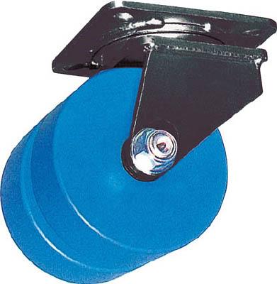 ヨドノ 【代引不可】【直送】 鋳物超重荷重用双輪キャスター自在車MCナイロン車輪付MCWg150X75 MCW-G150X75 [A050207]