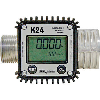 アクア デジタル電池式流量計 TB-K24-FM [B020602]