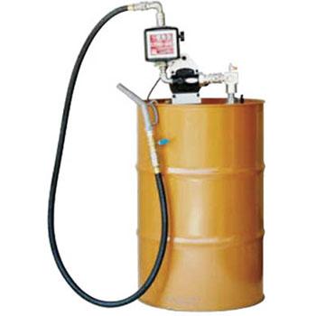 アクア 【個人宅不可】 流量計付電動ドラムポンプ (100V) オイル 油 K33EVD-100 [B020602]