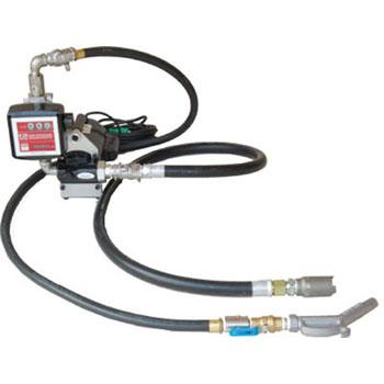アクア 【代引不可】【直送】 流量計付ホース接続電動ポンプ (100V) オイル 油 K33EVH-100 [B020602]