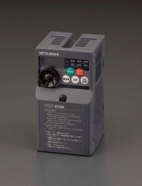 【在庫限定品】 エスコ ESCO 200V/0.75kw インバーター(3相モーター用) EA940MX-7.5 [A230201]
