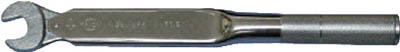 中村製作所 カノン スパナ式単能形トルクレンチ N38SPK21 N38SPK21 [A030215]