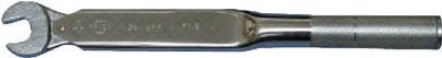 【◆◇スーパーセール!エントリーでP10倍!期間限定!◇◆】中村製作所 カノン スパナ式単能形トルクレンチ N67SPK17 N67SPK17 [A030215]
