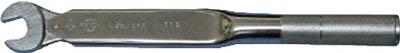 中村製作所 カノン スパナ式単能形トルクレンチ N220SPK27 N220SPK27 [A030215]