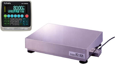クボタ計装 【個人宅不可】 デジタル台はかり 30kg KS-C8000BM/K3-30A-SS [A030523]