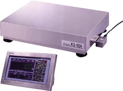 クボタ計装 【代引不可】【直送】 組込型オールSUSデジタル台はかり150kg用/KS-C7002付属 K3-150A-SUS [A030523]