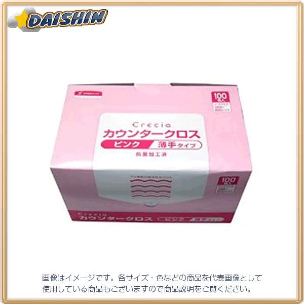 日本製紙クレシア カウンタークロス 薄手タイプ ピンク #65422 [A230101]