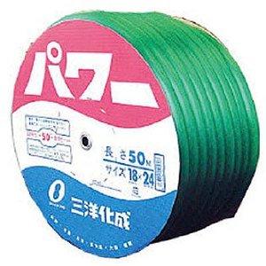 三洋化成 パワーホース18×24 グリーン 50mドラム巻 PW-1824D50G [A230101]