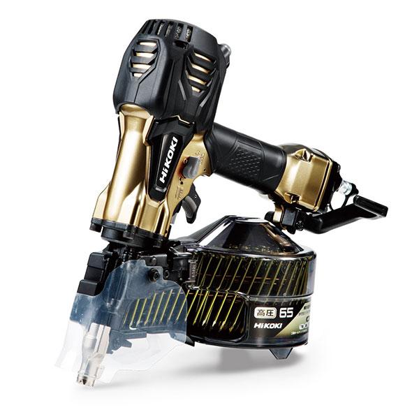 超安い STAGE NV65HR2(S) パワー切替機構付:NEW TOOLS 高圧ロール釘打機 Hikoki-DIY・工具