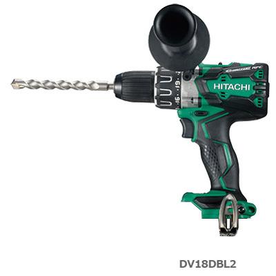 HiKOKI コードレス振動ドライバドリル DV18DBL2(NN) 本体のみ(電池・充電器・ケース別売)