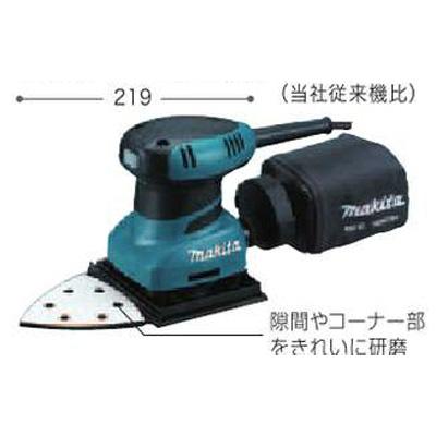 マキタ電動工具 防じんミニサンダ BO4565