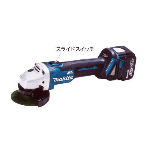 マキタ 充電式ディスクグラインダ GA403DRGN 14.4V6.0Ah100mm(電池・充電器・ケース付)