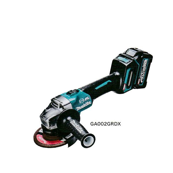 マキタ GA002GRDX 充電式ディスクグラインダ 40V サイドグリップ付(電池2個・充電器・ケース付)