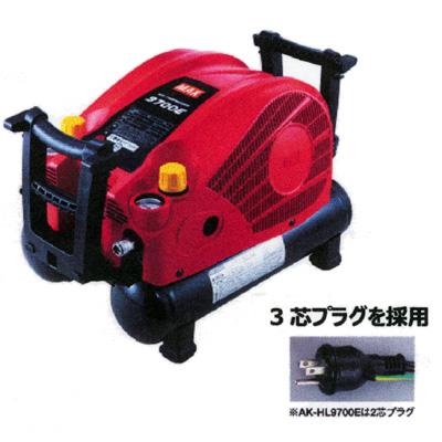 マックス 常圧専用コンプレッサ AK-LL9700E 常圧チャックx2