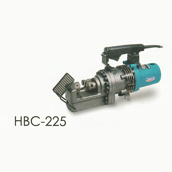 オグラ HBC-225 電動油圧式鉄筋切断機