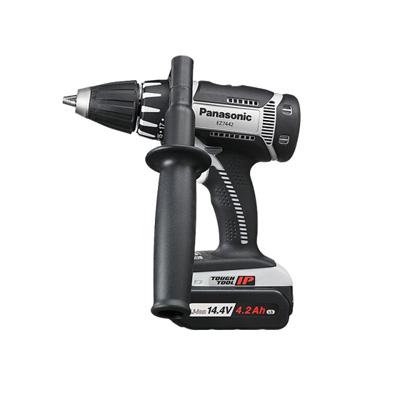 パナソニック 充電ドリルドライバー EZ7442LS2S-H(グレー)(14.4V 4.2Ah電池2個・充電器・ケース付)