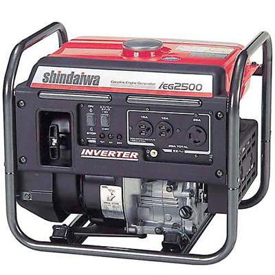 新ダイワ(やまびこ) インバータ発電機IEG2500[発電機]