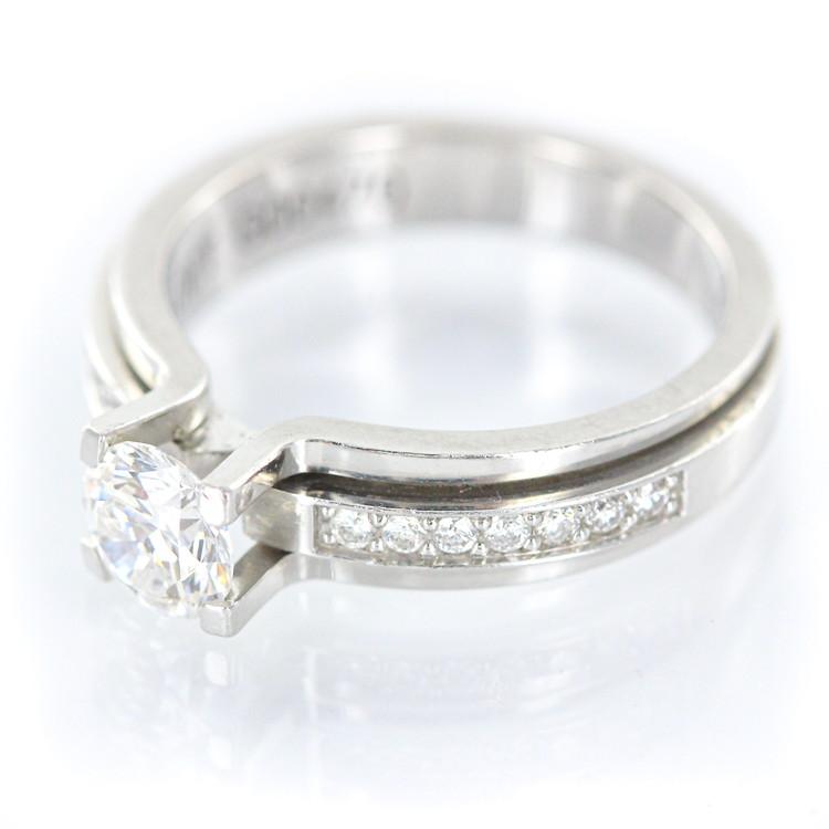 【中古】指輪 ジュエリー レディースジュエリー ピアジェ ポセッション ポセション Pt950 プラチナ ダイヤモンド 中石0.54ct 7.0g 8号 リング