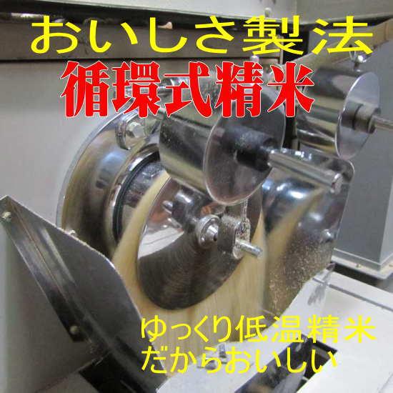 循環式の精米機