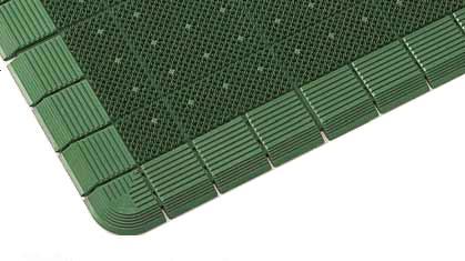汚れにくくクッション性にすぐれたマット。巻きやすい設計で、掃除や持ち運びに便利エバックハイローリングマットDX 900×1200mm
