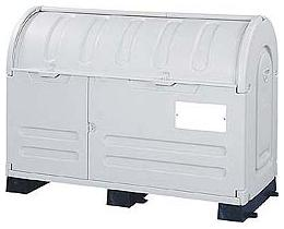 会社やお店にエコランドステーションボックス固定台付 800L