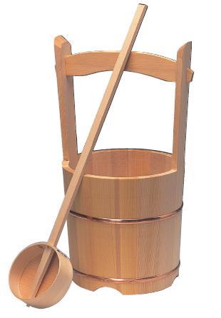 木製手桶セット